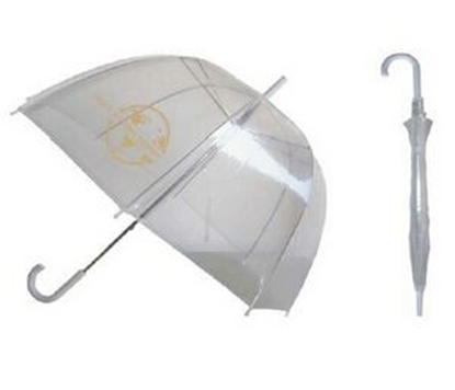 "Picture of Eco Friendly Clear Bubble Umbrella (46"" Arc)"