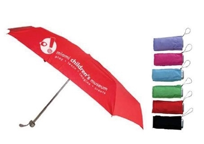 "Picture of 5-Section Micro Mini Folding Umbrella (42"" Arc)"