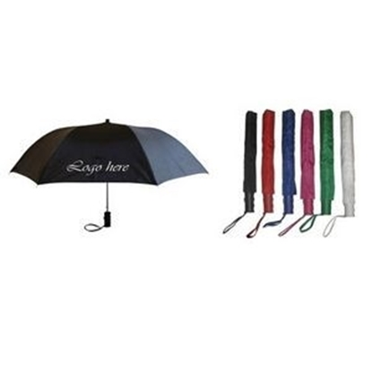 "Picture of 2 Section Push Button Auto Open Umbrella (42"" Arc)"