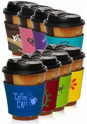 Picture of Collapsible Foam Coffee Wrap Insulator