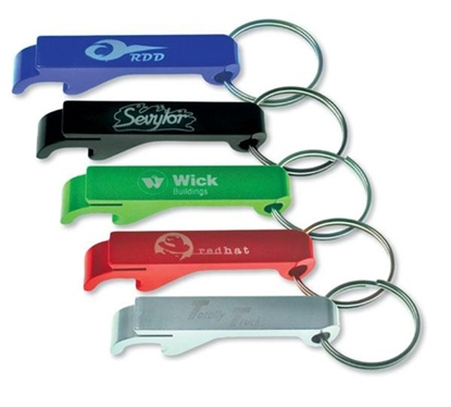 Picture of Aluminum Bottle Opener Key Chain