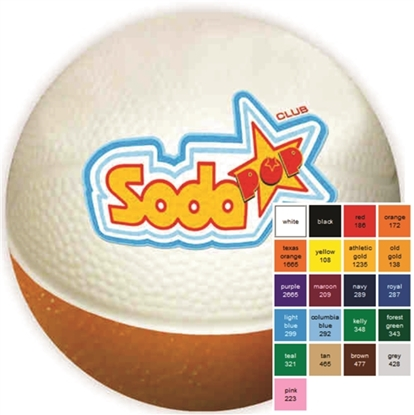 "Picture of 4"" Micro Nerf Foam Basketballs"