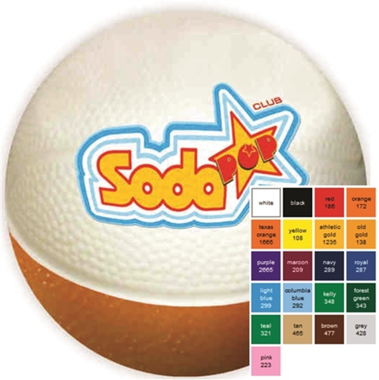 """Picture of 4"""" Micro Nerf Foam Basketballs"""