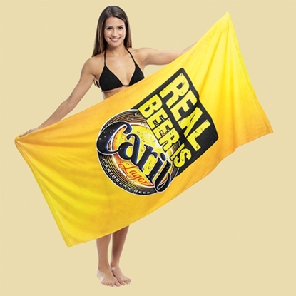 Picture of Subli-Cotton Terry Beach Towels
