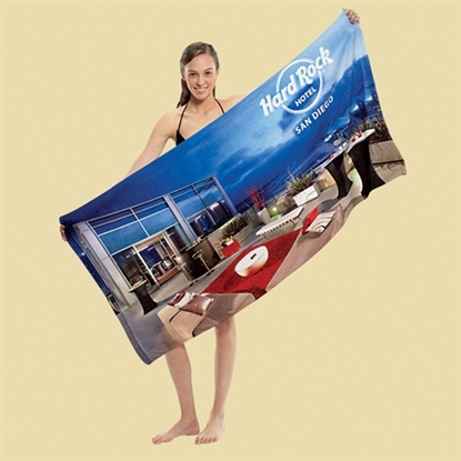 Picture of Traveler's Microfiber Terry Beach Towels