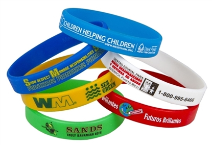 Picture of Super Saver Awareness Bracelets (Screen Printed)