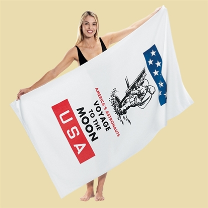 Picture of Billboard Size Super Heavyweight Velour Beach Towels