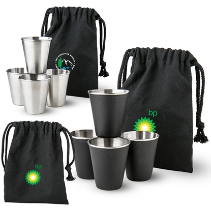 Picture of Shots in a Bag Shot Glass Gift Set