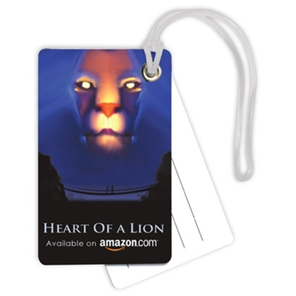 Picture of Double PVC Credit Card Bag Tags