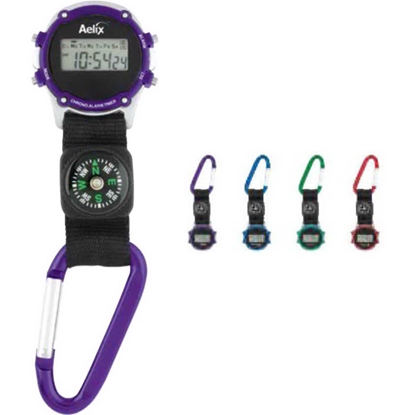 Picture of Clip-On Watch With Compass