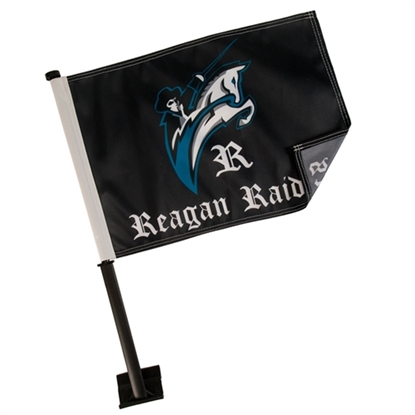 "Picture of Economy Car Flag (11"" x 15"")"