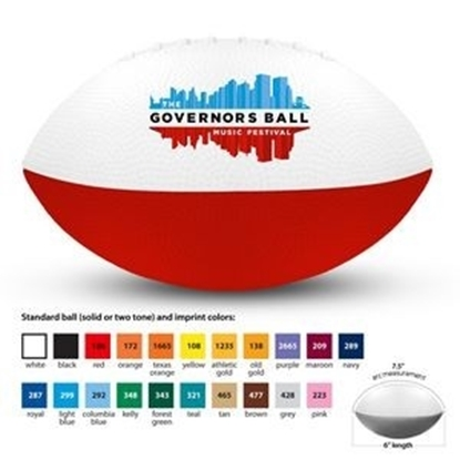 "Picture of 6"" Mini Nerf Foam Footballs"