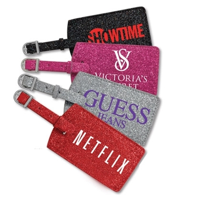 Picture of Glitter Luggage Tags
