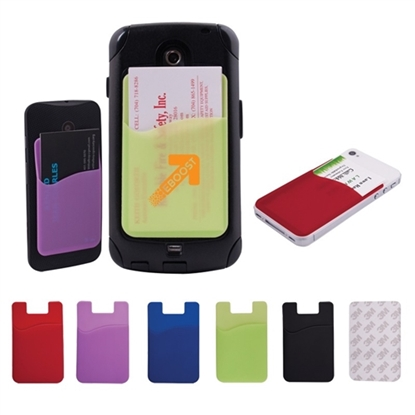 Picture of Adhesive Card Pocket for Smartphones
