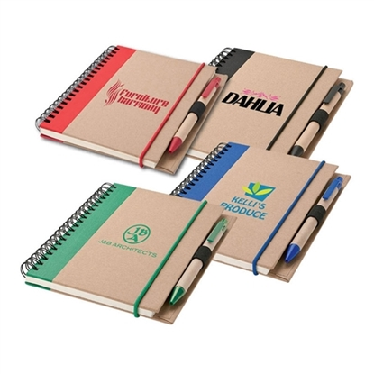 Picture of Recycled Notebook & Pens