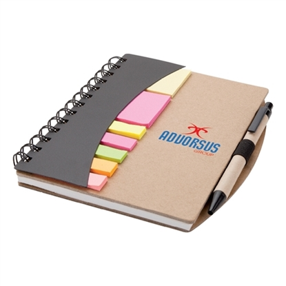 Picture of Mini Journal with Pens Flags & Sticky Notes
