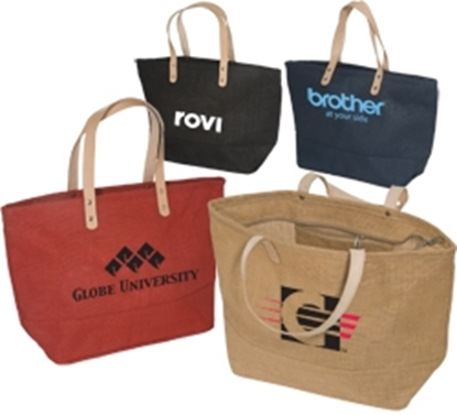 Picture of Hamptons Jute Tote Bags