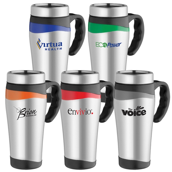 Picture of 16 oz. Color Touch Stainless Mug