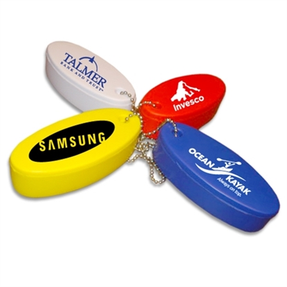 Picture of Neon Floating Key Fob With Keychains