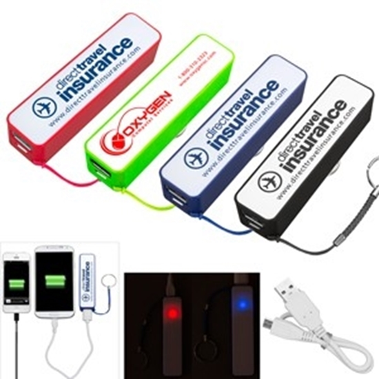 Picture of 2200 mAh Portable Lithium Ion Power Bank Chargers