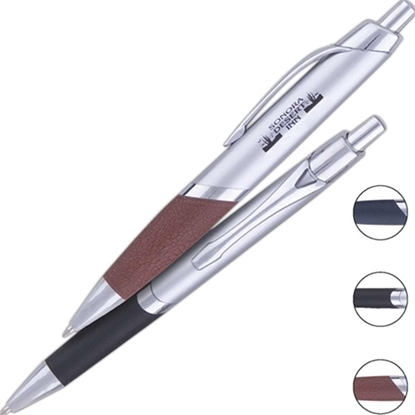 Picture of Raw Hide™ Pens (Silver Barrel)