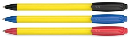 Picture of Paper Mate Sport Retractable Yellow Barrel Pens