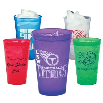 Picture of 22 oz. Translucent Smooth Stadium Cups