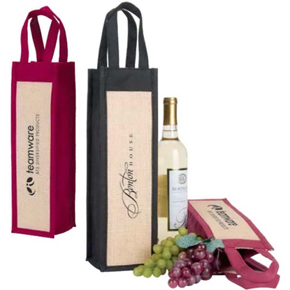 Picture of Napa wine gift tote