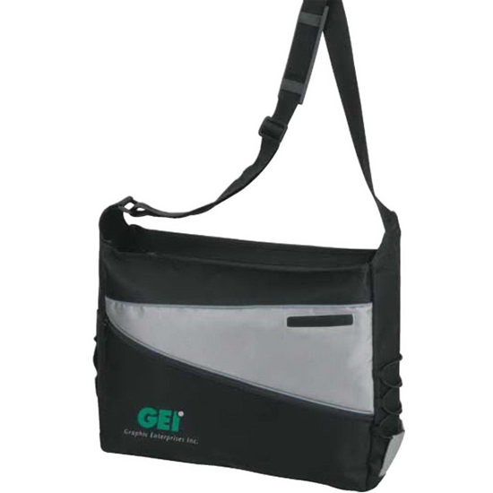 Picture of 2-Tone Computer Messenger Bag