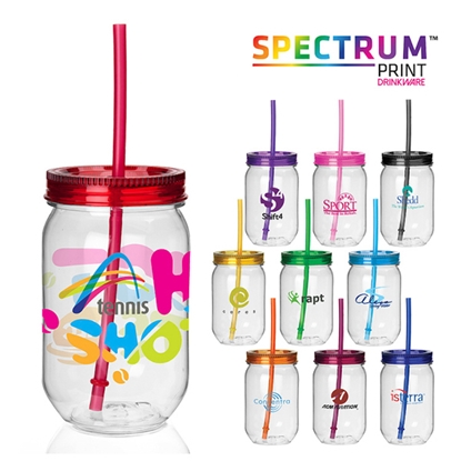 Picture of Fiesta Mason Jar Tumbler