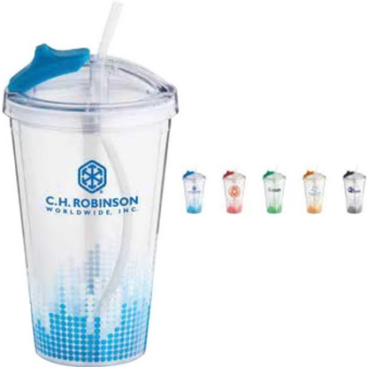 Picture of Soundwave Straw Tumbler