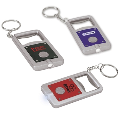 Picture of LED Bottles Opener Keychains
