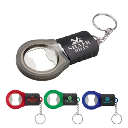 Picture of Flashlight Bottle Opener Keychains