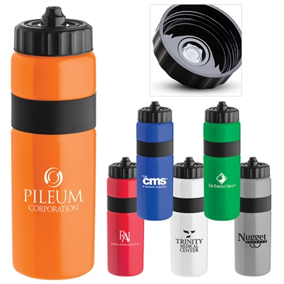 Picture of Sierra Sure-Snap (TM) Plastic Water Bottle