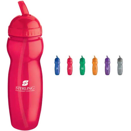 Picture of 22 oz. Translucent Water Bottle