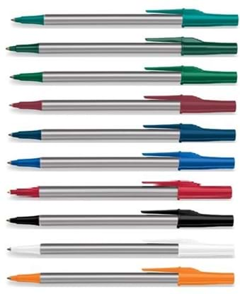 Picture of Paper Mate Write Bros Silver Barrel Pens