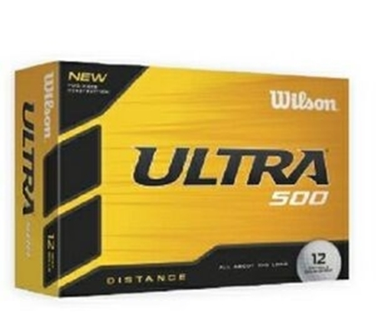 Picture of Wilson Ultra 500 Golf Balls - White (12 Count)