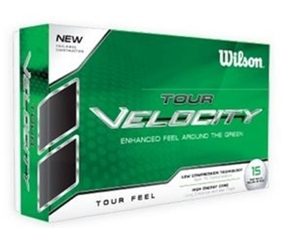 Picture of Wilson Tour Velocity™ Golf Balls - White (12 Count)