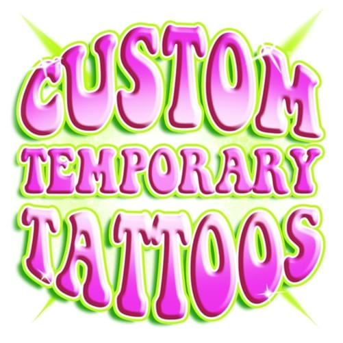 3x3 Temporary Custom Waterless Tattoos