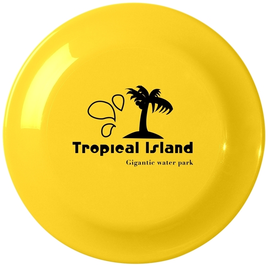 Yellow Large Promotional Frisbee