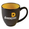 15 oz. Two-Tone Matted Bistro Mugs