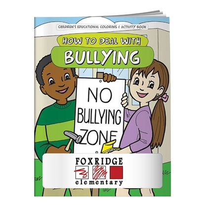 Picture of Coloring Book: How to Deal with Bullying - BLANK