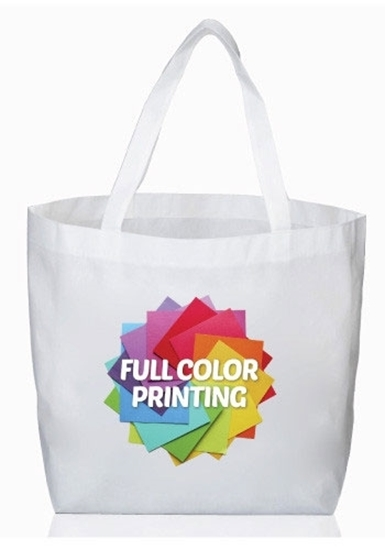 Full Color Sublimation Reusable Tote Bags