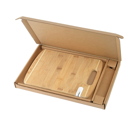 Bamboo Sharpen-It Cutting Board with Gift Box